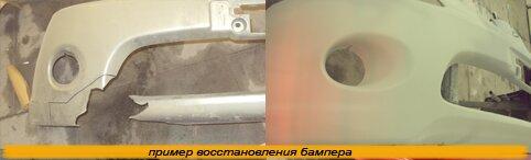 Ремонт бамперов Киев